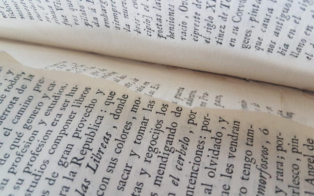 Aromas y secretos de los libros viejos: un Quixote